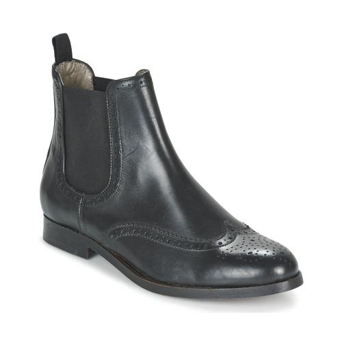 Hudson ASTA CALF Schwarz  Schuhe Stiefel Damen