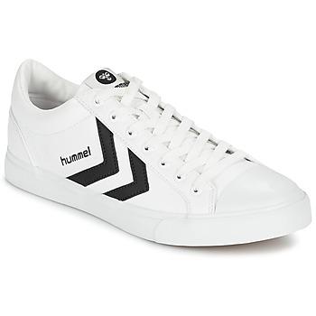 Schuhe Sneaker Low Hummel DEUCE COURT SPORT Weiss