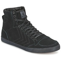 Schuhe Sneaker High Hummel TEN STAR TONAL HIGH Schwarz