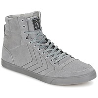 Schuhe Sneaker High Hummel TEN STAR TONAL HIGH Grau