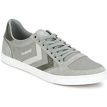 Schuhe Sneaker Low Hummel TEN STAR DUO CANVAS LOW Grau