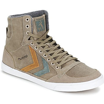 Schuhe Sneaker High Hummel TEN STAR DUO OILED HIGH Braun