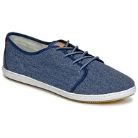 Schuhe Herren Sneaker Low Lafeyt DERBY HEAVY CANVAS Marine