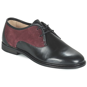 Schuhe Damen Derby-Schuhe M. Moustache EUGENIE Schwarz / Bordeaux