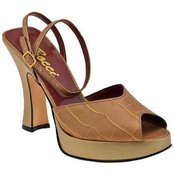 Schuhe Damen Pumps Bocci 1926 Plateau T.110 Court Schuh ist plateauschuhe Beige