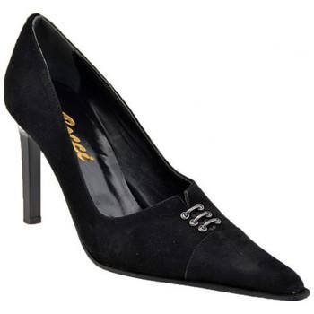 Schuhe Damen Pumps Bocci 1926 CourtSchuhgezogenT.90plateauschuhe Schwarz