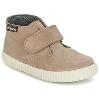 Schuhe Kinder Sneaker High Victoria SAFARI SERRAJE VELCRO Maulwurf