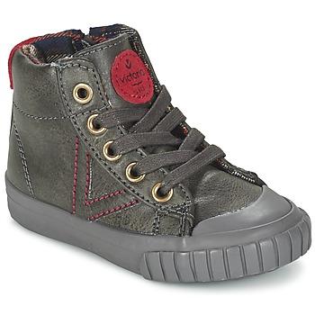 Schuhe Kinder Sneaker High Victoria BOTA NAPA PU Grau