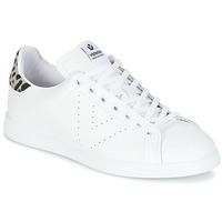 Schuhe Damen Sneaker Low Victoria DEPORTIVO BASKET PIEL Weiss
