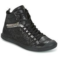 Schuhe Damen Sneaker High Pataugas BANJOU Schwarz