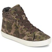 Schuhe Mädchen Sneaker High Geox KIWI GIRL Grün