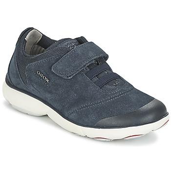 Schuhe Jungen Sneaker Low Geox NEBULA BOY Blau