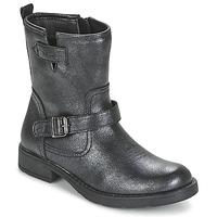Schuhe Mädchen Boots Geox SOFIA Schwarz