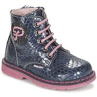 Schuhe Mädchen Boots Pablosky CHAVISKA Marine