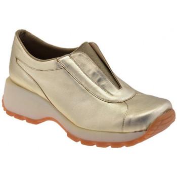Schuhe Damen Sneaker Low Bocci 1926 Gehen Slip On Sport unteren turnschuhe Gold