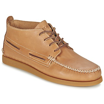 Schuhe Herren Boots Sperry Top-Sider A/O WEDGE CHUKKA LEATHER Beige