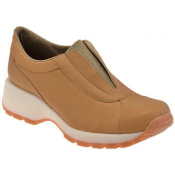 Schuhe Damen Slip on Bocci 1926 Slip On Walk turnschuhe Beige