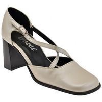 Schuhe Damen Pumps Bocci 1926 Court Schuh ist Quer T.60 plateauschuhe Beige