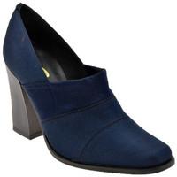 Schuhe Damen Pumps Bocci 1926 CourtSchuhistelastischHalsT.95plateauschuhe Blau