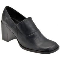 Schuhe Damen Low Boots Bocci 1926 Elastische Hals T.70 halbstiefel Schwarz