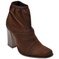 Schuhe Damen Low Boots Bocci 1926 Stretch T.95 halbstiefel Braun