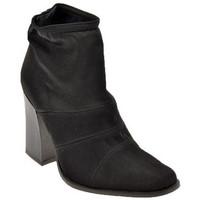 Schuhe Damen Low Boots Bocci 1926 Stretch T.95 halbstiefel Schwarz