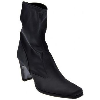Schuhe Damen Low Boots Bocci 1926 Plateau T.70 halbstiefel Schwarz