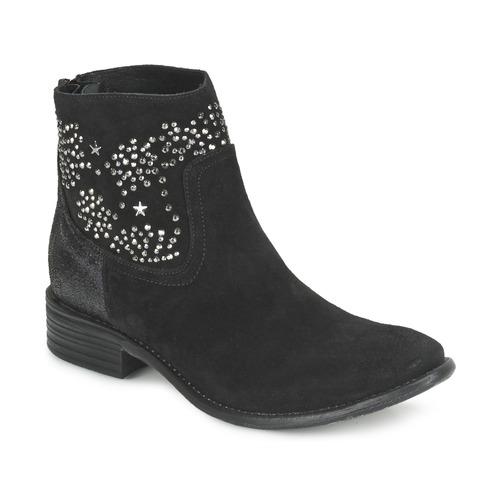 Meline VELOURS STARTER Schwarz  Schuhe Low Boots Damen 67