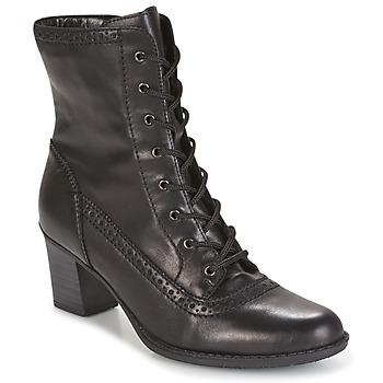 Schuhe Damen Low Boots Rieker SEBILLE Schwarz