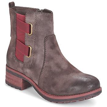 Schuhe Damen Boots Rieker ZINETTE Braun