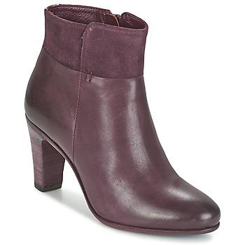 Schuhe Damen Low Boots Fred de la Bretoniere NAVAJO Bordeaux