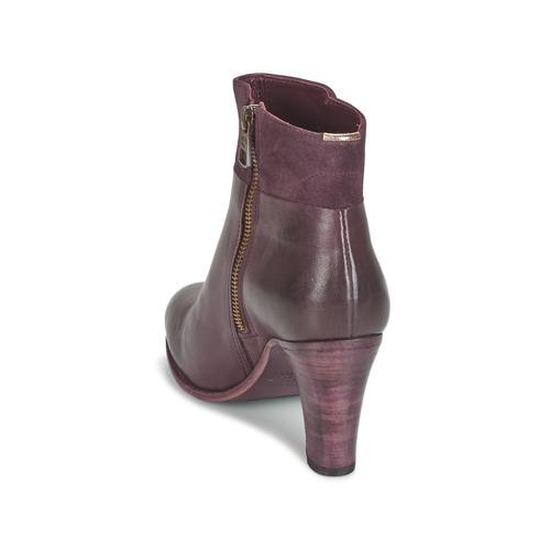 Fred de la Bretoniere NAVAJO Bordeaux  Schuhe Low Boots Damen 199,96