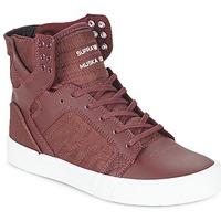 Schuhe Sneaker High Supra SKYTOP Bordeaux