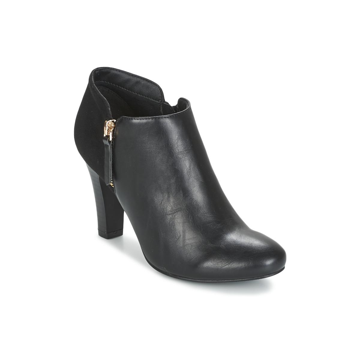 Moony Mood FADI Schwarz - Kostenloser Versand bei Spartoode ! - Schuhe Ankle Boots Damen 49,99 €