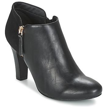 Schuhe Damen Ankle Boots Moony Mood FADI Schwarz