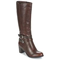 Schuhe Damen Klassische Stiefel Moony Mood FARANDO Braun