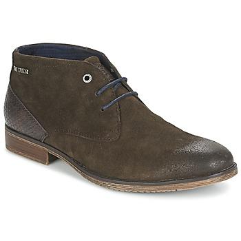 Schuhe Herren Boots Tom Tailor REVOUSTI Braun