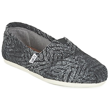 Schuhe Damen Slip on Toms SEASONAL CLASSIC Grau