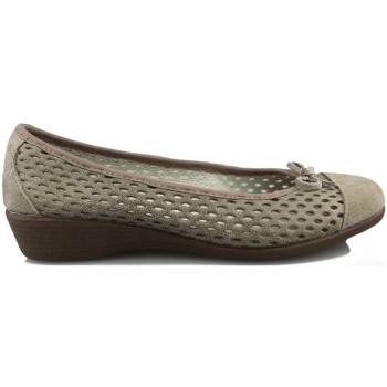 Schuhe Damen Ballerinas Vulladi CRAQUELE BROWN