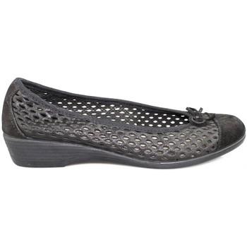 Schuhe Damen Ballerinas Vulladi CRAQUELE BLACK