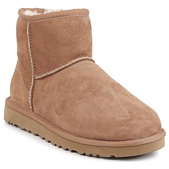 Schuhe Damen Boots UGG CLASSIC MINI Chestnut