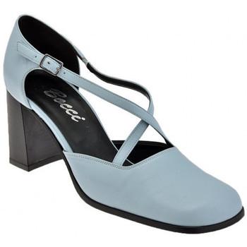 Schuhe Damen Pumps Bocci 1926 CourtSchuhistQuerT.60plateauschuhe Blau