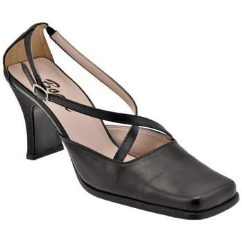 Schuhe Damen Pumps Bocci 1926 PuntaQuadraT.60CourtSchuhistplateauschuhe Schwarz