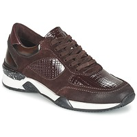 Schuhe Damen Sneaker Low Dream in Green FARRICA Bordeaux