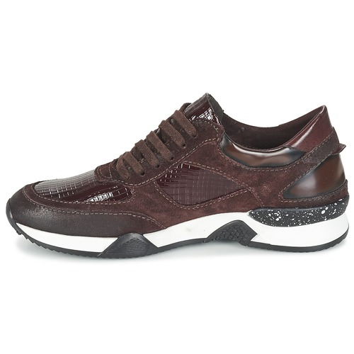 Dream in Grün FARRICA Bordeaux Low  Schuhe Turnschuhe Low Bordeaux Damen 8cf791