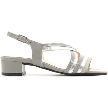 Schuhe Damen Sandalen / Sandaletten Grace Shoes E6472 High heeled sandals Frauen Grey
