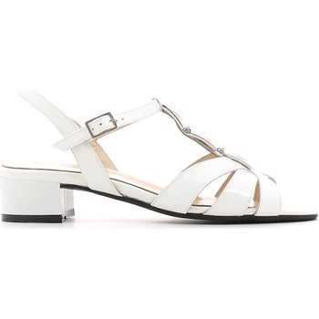 Schuhe Damen Sandalen / Sandaletten Grace Shoes E6473 High heeled sandals Frauen Bianco