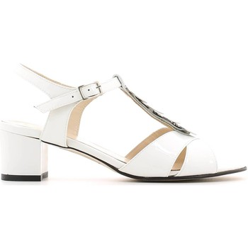 Schuhe Damen Sandalen / Sandaletten Grace Shoes E6483 High heeled sandals Frauen Bianco Bianco