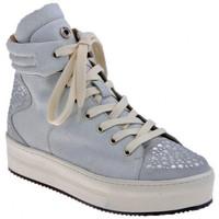 Schuhe Damen Sneaker High Janet&Janet Verzierte Plattform-Mittel Hoch Sport sportstiefel Weiss