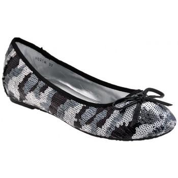 Schuhe Damen Ballerinas F. Milano Glanz ballet ballerinas